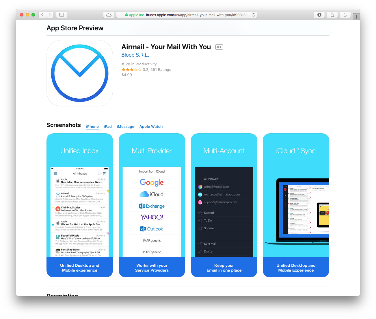 airmail lightning fast mail client for mac and iphone